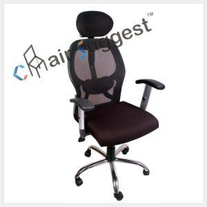 High back net staff chairs