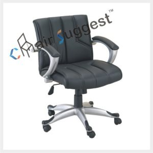 Office staff leather chairs