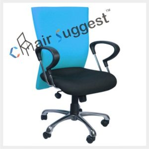 Fabric office staff chair