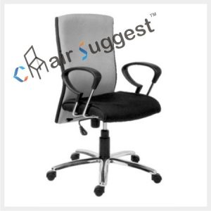 High back executive leather office chair