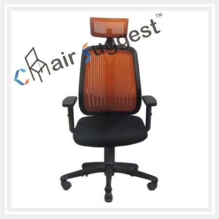 Ergonomic high back net chairs